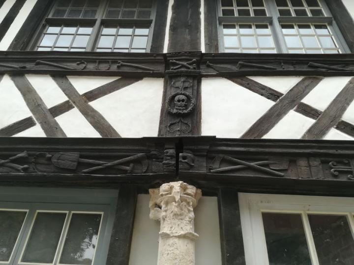 L'aître Saint-Maclou à Rouen