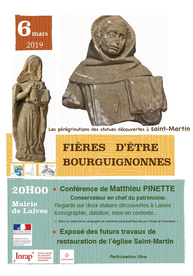 Conférence statues de Laives