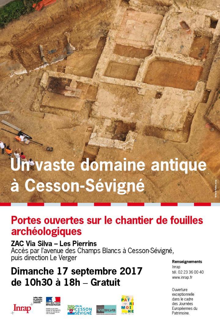 Affiche JPO Cesson-Sévigné - JEP 2017