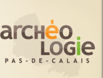 Logo département d'archéologie du Pas-de-Calais