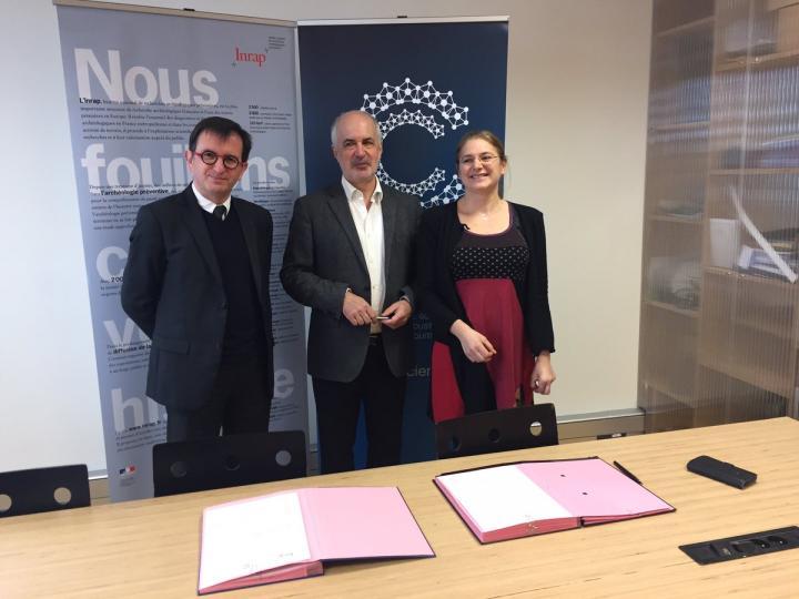 signature convention cap sciences 30 janvier 2018
