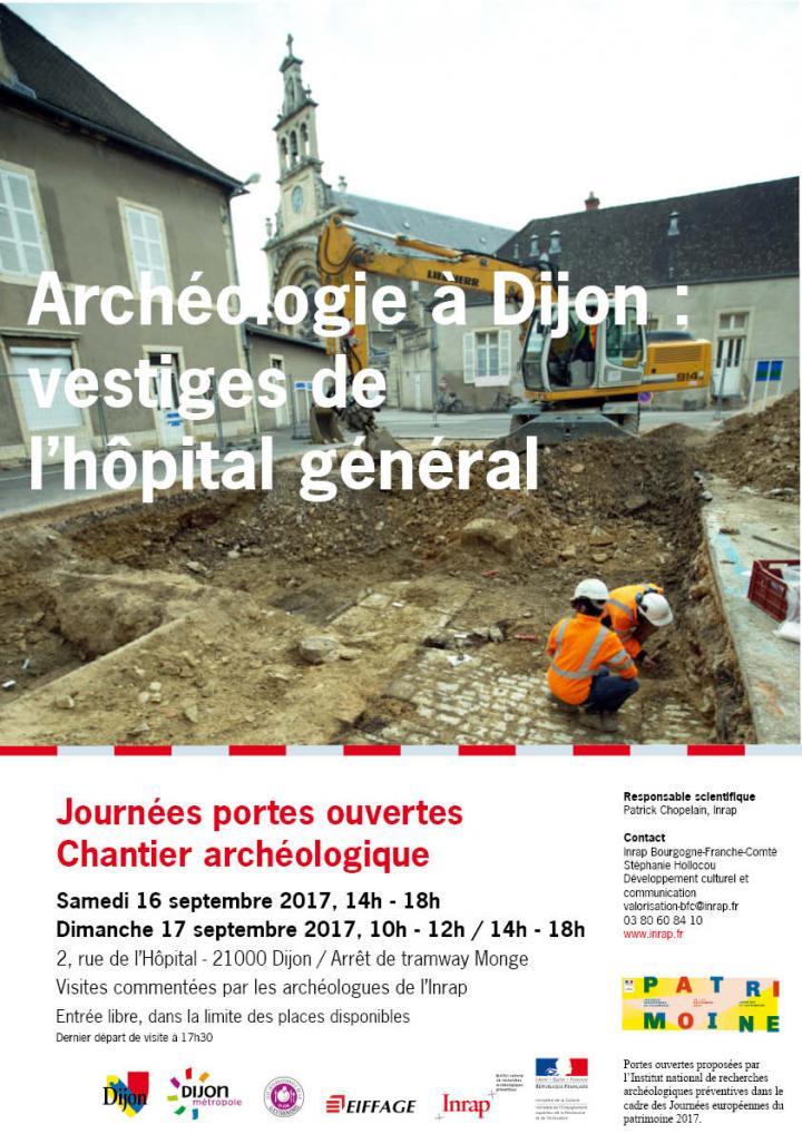 Dijon hopital general affiche