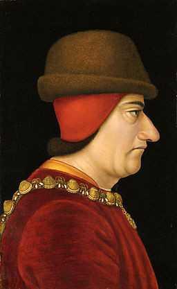 Louis XI, Portrait anonyme (15e siècle)