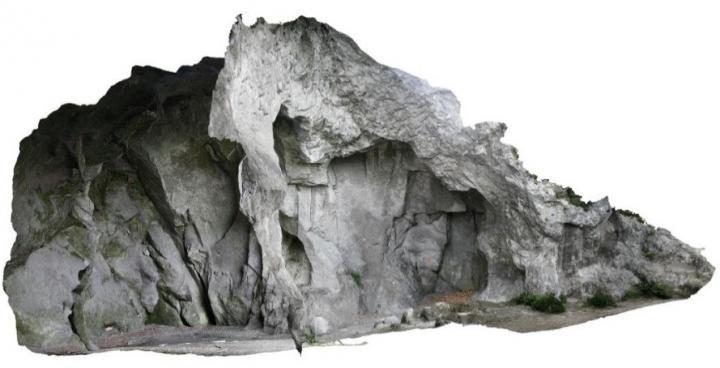 Relevé photogrammétrique de la grotte du Sarcouy