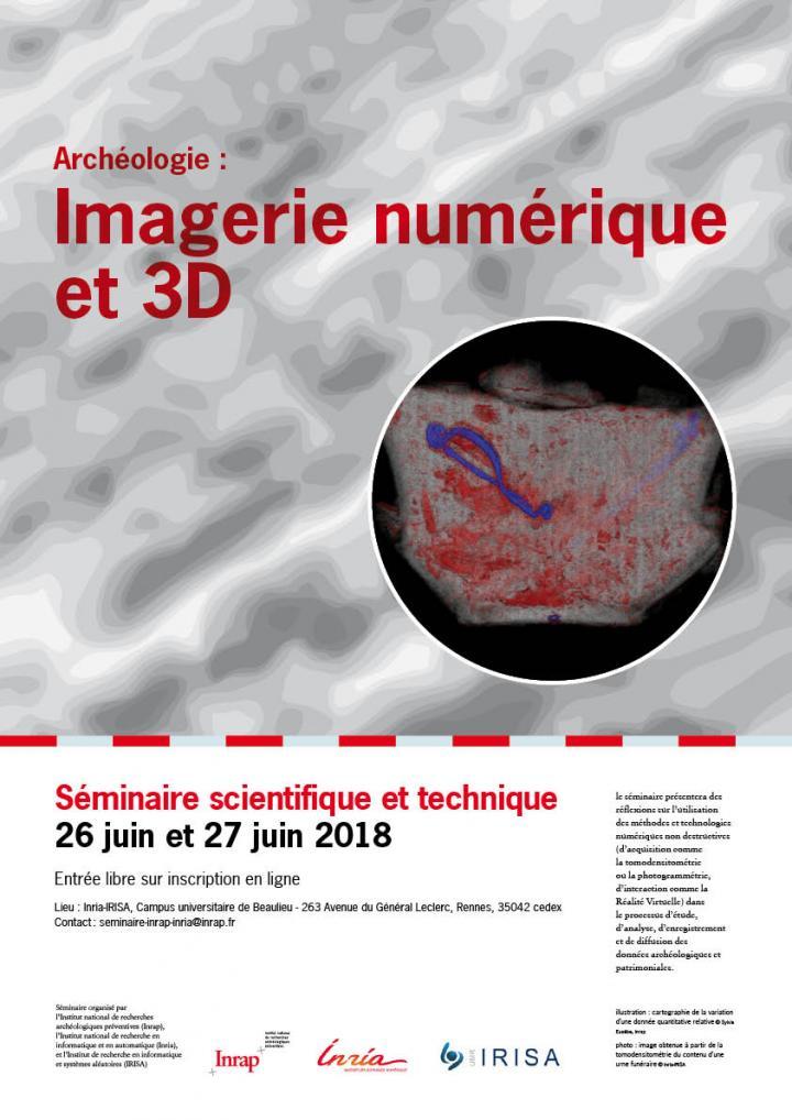 Imagerie numérique et 3D