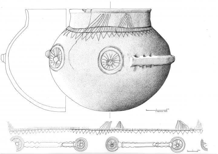 Le vase chasséen de Daurelle