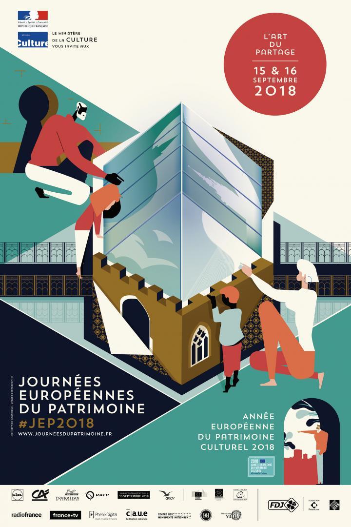 Affiche des JEP 2018