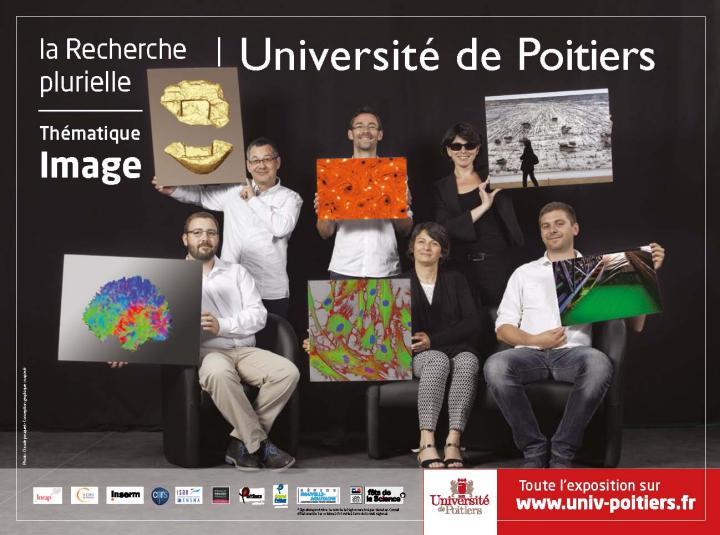 Affiche de l'exposition La recherche plurielle
