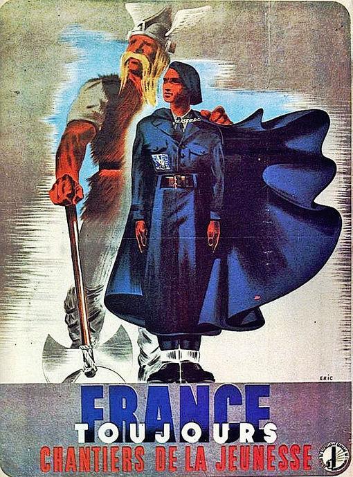 France Toujours chantiers de la jeunesse