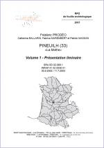 Rapport Pineuilh - Prodeo
