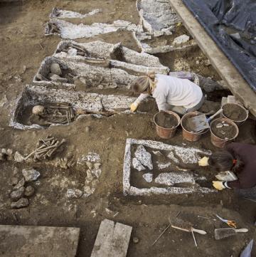 Fouille de la nécropole des Mastraits, Noisy-le-Grand