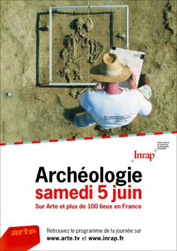 Journée de l'archéologie sur Arte samedi 5 juin 2010