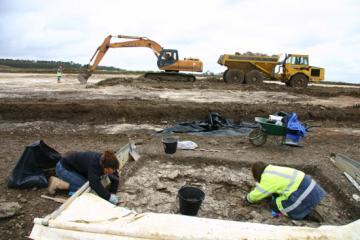 Autoroute A 85 : fin des opérations archéologiques