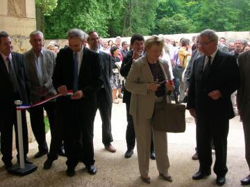 Inauguration du pôle mixte de recherche archéologique de Campagne dans la vallée de la Vézère