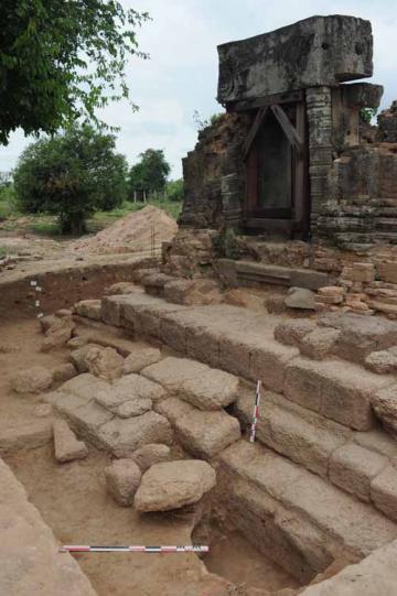 Archéologie préventive à Angkor : une collaboration entre l'Autorité Nationale Apsara, VINCI et l'Inrap