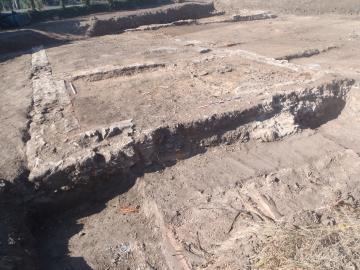 Le bourg antique de Chassenon