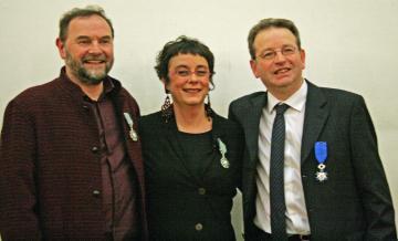 Trois chercheurs de l'Inrap honorés