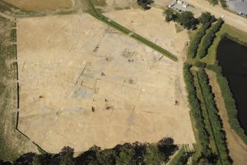 Une importante ferme gauloise mise au jour à Saint-Sauveur-des-Landes