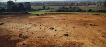 La Cavalade,  une fouille archéologique préventive  au sud de Montpellier