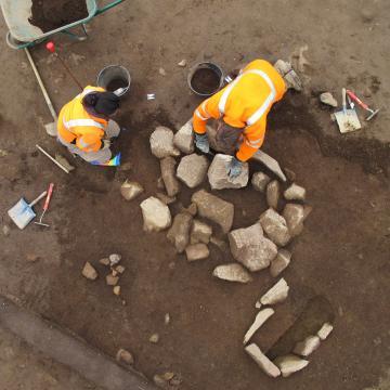 Une nécropole de l'âge du Bronze ancien au Bono (Morbihan)