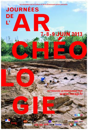 J-7 : Journées nationales de l'Archéologie, les 7, 8 et 9 juin 2013