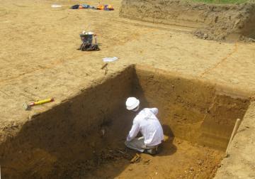 Plus de 5000 ans d'histoire mis au jour à Vaucelles, près de Bayeux (Calvados)