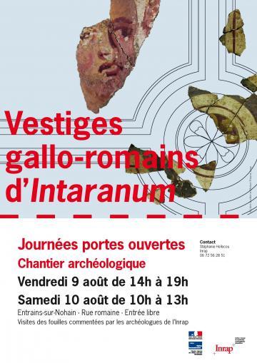 Journées portes ouvertes : Vestiges gallo-romains d'<I>Intaranum</I> à Entrains-sur-Nohain (Nièvre)