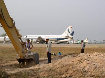 Archéologie préventive à Angkor: une installation de l'Inrap au musée national des arts asiatiques-Guimet