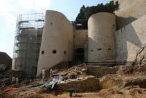 Archéologie du château de Rodemack, la place-forte aux trois frontières