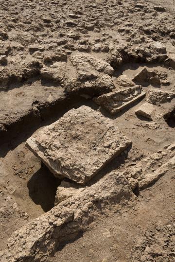 Découverte d'un sanctuaire monumental antique et de sa statuaire à Pont-Sainte-Maxence