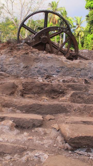 1<sup>re</sup> fouille préventive à Mayotte :  la sucrerie du Domaine de Coconi