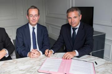 L'Inrap et la Fédération des promoteurs immobiliers signent un accord