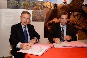 La Fédération des Epl et l'Inrap signent un accord de partenariat