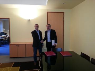 L'Inp et l'Inrap signent une convention de partenariat