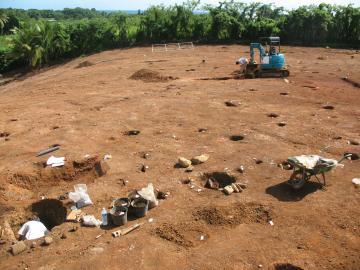 Une habitation sucrerie à Goyave en Guadeloupe
