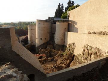La citadelle de Rodemack, place-forte stratégique dès le Moyen Âge