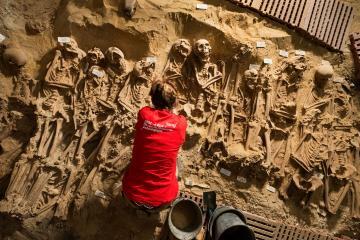 Les surprises des sous-sols du boulevard Sébastopol à Paris : archéologie du cimetière de la Trinité
