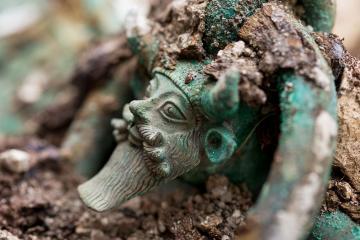 Découverte en France d'une nouvelle tombe princière du V<sup>e</sup> siècle avant notre ère