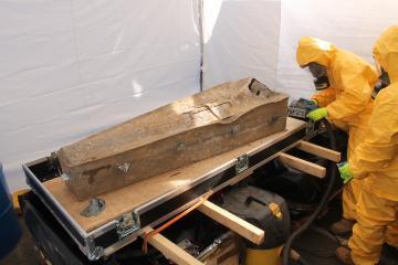L'exceptionnelle sépulture de Louise de Quengo, dame du XVIIe siècle