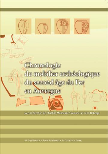 Visuel Chronologie du mobilier archéologique du second âge du Fer en Auvergne