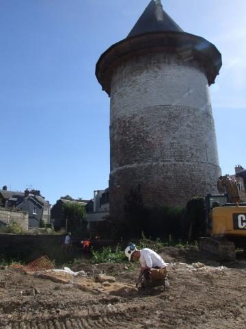 Rue du Donjon : du XIII<sup>e</sup> siècle à nos jours, l'histoire de Rouen racontée par l'archéologie