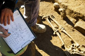 Lyon paléochrétien : fouille du cimetière de Saint-Just et Saint-Irénée