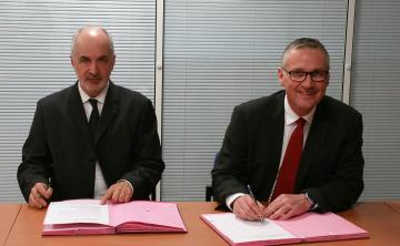 Visuel 1 - Partenariat entre l'Inrap et Bourges Plus