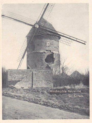 Fouille du « Moulin rouge» à Thélus, haut lieu de fraternisation franco-allemande en 1915