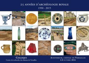 """Affiche """"25 années d'archéologie royale"""""""