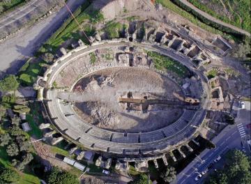 Fouille de l'amphithéâtre