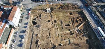 Des entrepôts et un théâtre gallo-romains à Amiens