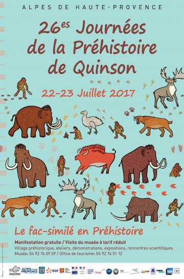 Affiche Quinson, 2017