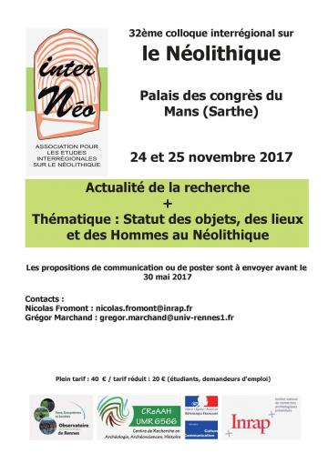 Affiche 32e colloque InterNéo