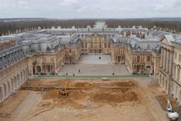 Cour du Grand Commun - Louis XIII aux origines du château de Versailles